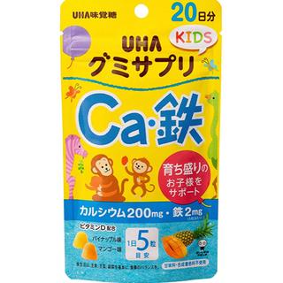 ユーハミカクトウ(UHA味覚糖)のUHA 味覚糖 グミサプリ KIDS  Ca.鉄(その他)