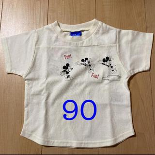 しまむら - しまむら ミッキー Tシャツ 90