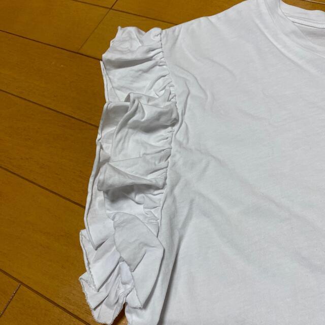 ZARA(ザラ)のZARAカットソー 2枚セット レディースのトップス(カットソー(半袖/袖なし))の商品写真