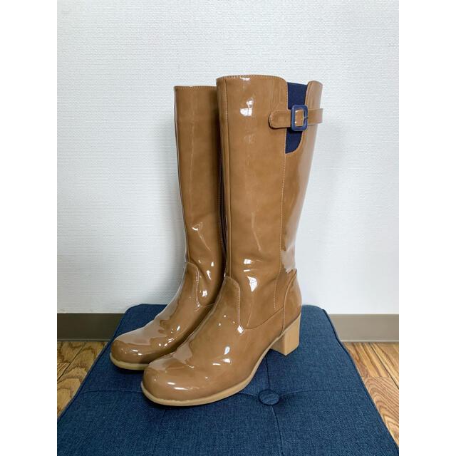あしながおじさん(アシナガオジサン)のあしながおじさん  レインブーツ ロングブーツ   Size L レディースの靴/シューズ(ブーツ)の商品写真