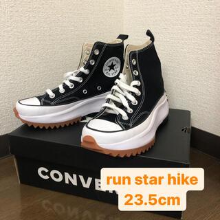 CONVERSE - Converse ブラック Run Star Hike 23.5cm