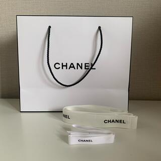 シャネル(CHANEL)のCHANEL ショップ袋&紐2個セット(ショップ袋)