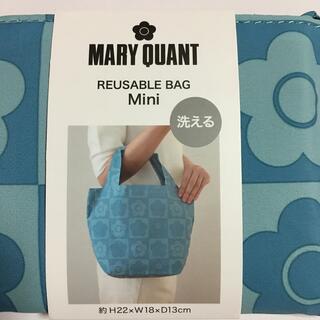 MARY QUANT - マリークワント  エコバッグ(ミニ)ブルー