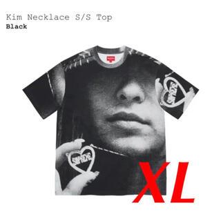 Supreme - Supreme Kim Necklace S/S Top Black XL