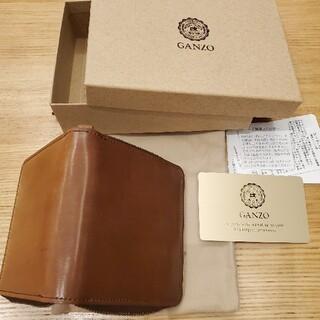 ガンゾ(GANZO)の新品未使用 ganzo大阪限定 コンパクトジップウォレット バーボン(折り財布)