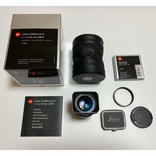 ライカ(LEICA)のLeica Summilux 35mm ASPH. 美品 フィルター付き(レンズ(単焦点))