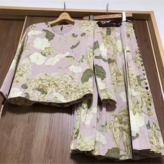 カネコイサオ(KANEKO ISAO)の☆美品 カネコイサオ 和柄 縮緬 2点セット(セット/コーデ)