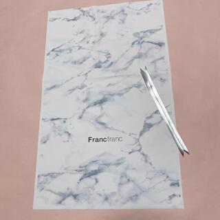 フランフラン(Francfranc)のフランフラン ショップ袋 ビニール袋 ♡ ローラアシュレイ コーチ トッカ 好き(ショップ袋)