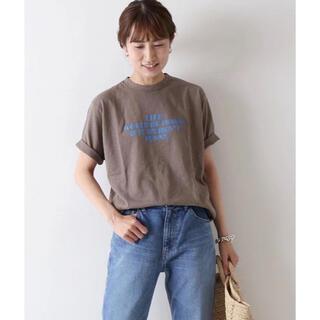 フレームワーク(FRAMeWORK)の【即日発送】新品 ロングスラブロゴBIG Tシャツ(Tシャツ(半袖/袖なし))