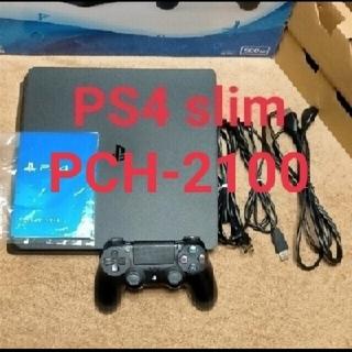 PlayStation4 - PS4 CUH-2100A B01Jet Black 500GB
