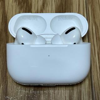 アップル(Apple)の【美品】【正規品】Apple Air Pods Pro エアーポッズ プロ(ヘッドフォン/イヤフォン)