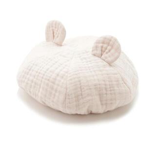 ジェラートピケ(gelato pique)のジェラートピケ gelatopique アニマルガーゼbabyキャップ 帽子(帽子)