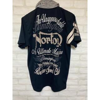 ノートン(Norton)のNorton ノートン 半袖シャツ Mサイズ 刺繍 千鳥格子 バイク バイカー(Tシャツ/カットソー(半袖/袖なし))