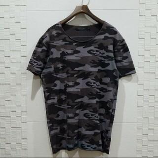 1piu1uguale3 - 1PIU1UGUALE3 カモフラ Tシャツ、カットソー