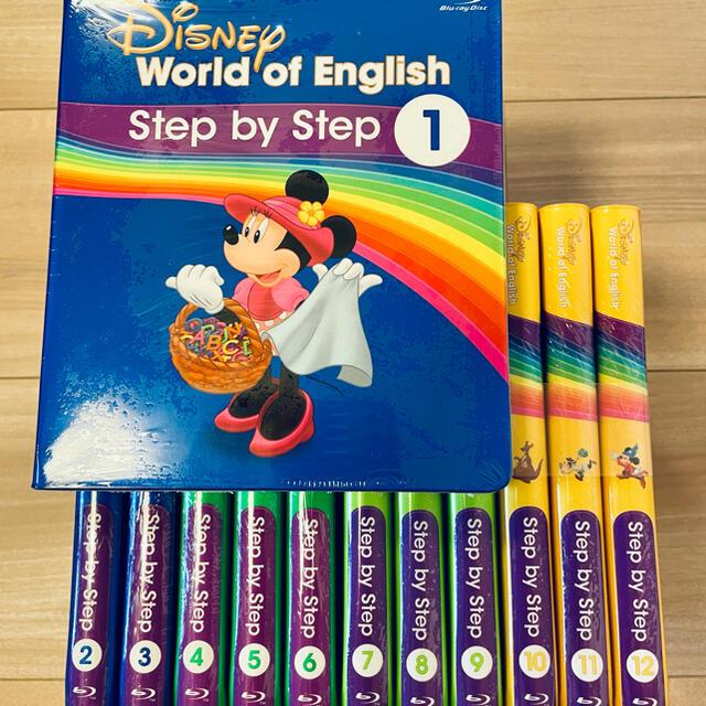 Disney(ディズニー)の最新版 DWE ディズニー英語システム ステップバイステップ エンタメ/ホビーのDVD/ブルーレイ(キッズ/ファミリー)の商品写真
