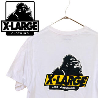 XLARGE - エクストララージ ビッグロゴ Tシャツ 半袖 両面プリント Mサイズ