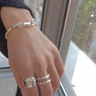 FREAK'S STORE - silver925 hook bracelet
