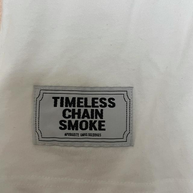 WACKO MARIA(ワコマリア)の舐達麻 APHRODITEGANG リュウ 刺繍 Tシャツ 白 メンズのトップス(Tシャツ/カットソー(半袖/袖なし))の商品写真