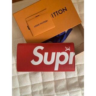 ルイヴィトン(LOUIS VUITTON)のSupreme×LOUIS VUITTON ポルトフォイユブラザエピ(長財布)