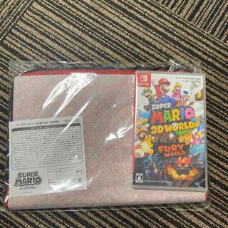 Nintendo Switch - 【新品未開封】スーパーマリオ 3Dワールド + バッグインバッグ付き♪
