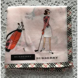 BURBERRY - ☆新品☆バーバリーハンカチ 女の子👱♀️ゴルフ🏌️♂️⛳️