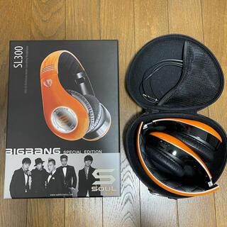 ビッグバン(BIGBANG)のbigbang ヘッドホン 限定品(ヘッドフォン/イヤフォン)