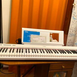 ヤマハ(ヤマハ)の美品NP-32 ヤマハ、動作確認済、スタンド付(電子ピアノ)
