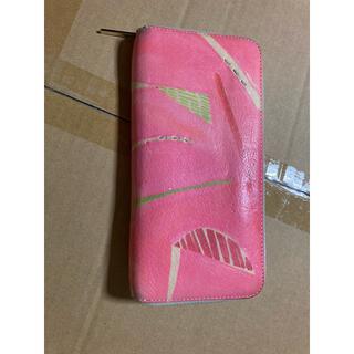 ツモリチサト(TSUMORI CHISATO)のアイアイズ 長財布 ピンク(財布)