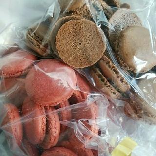 Creamy♡さま専用 マカロン皮×2袋(菓子/デザート)