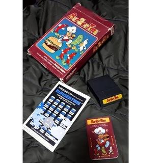 激レア 国内未発売 バンダイインテレビジョン バーガータイム 箱説オーバーレイ付(家庭用ゲームソフト)