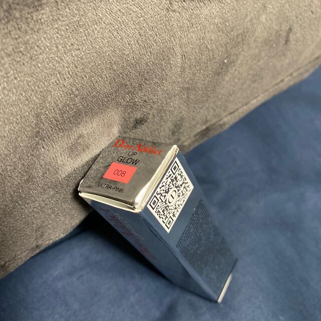 Dior(ディオール)の【新品】 ディオール アディクト リップ グロウ 008 ウルトラ ピンク コスメ/美容のベースメイク/化粧品(口紅)の商品写真