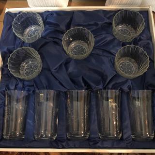 トウヨウササキガラス(東洋佐々木ガラス)のカメイガラス グラス 10個セット 昭和レトロ KAMEIGLASS(グラス/カップ)