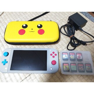 Nintendo Switch - Nintendoスイッチライト ザシアン・ザマゼンタ 本体、充電器、ケース