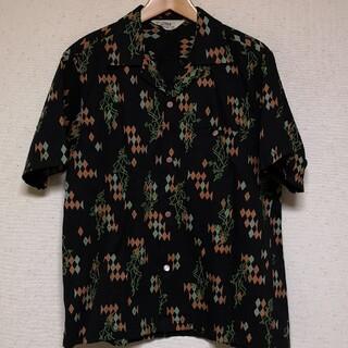 トウヨウエンタープライズ(東洋エンタープライズ)のスターオブハリウッド オープンシャツ ピエロ・ダイヤ柄 size M(シャツ)