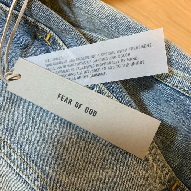 FEAR OF GOD(フィアオブゴッド)のFear Of God 7th Denim Jacket 5 Year M メンズのジャケット/アウター(Gジャン/デニムジャケット)の商品写真