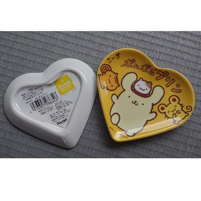 サンリオ(サンリオ)の新品 ポムポムプリン メラミン皿  2個セット サンリオ エンタメ/ホビーのおもちゃ/ぬいぐるみ(キャラクターグッズ)の商品写真