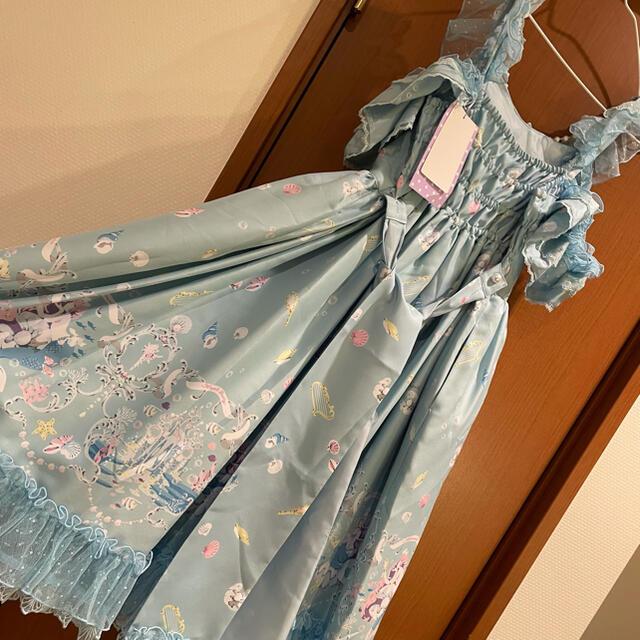 Angelic Pretty(アンジェリックプリティー)のChâteau d'écumeジャンパースカート レディースのワンピース(ひざ丈ワンピース)の商品写真