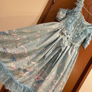 アンジェリックプリティー(Angelic Pretty)のChâteau d'écumeジャンパースカート(ひざ丈ワンピース)
