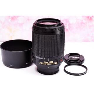 ニコン(Nikon)の手振れ補正❤️Nikon AF-S 55-200mm VR❤️人気望遠レンズ❤(レンズ(ズーム))