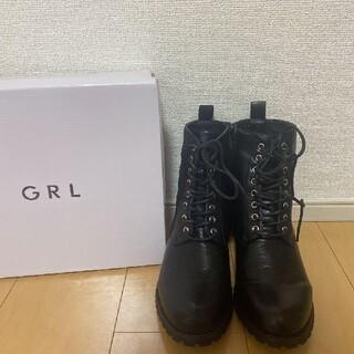 GRL - GRL レースアップシューズ ブーツ