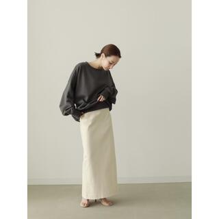 Ameri VINTAGE - louren highwaist pencil skirt アイボリー Mサイズ