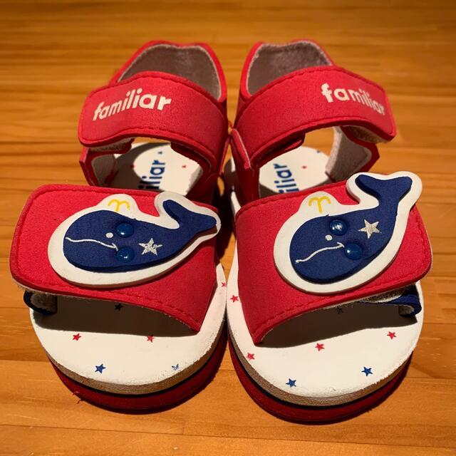 familiar(ファミリア)のファミリア 長靴&サンダル キッズ/ベビー/マタニティのベビー靴/シューズ(~14cm)(長靴/レインシューズ)の商品写真