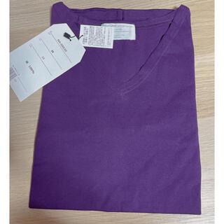 アンティカ(antiqua)のantiqua ロンT パープル(Tシャツ(長袖/七分))