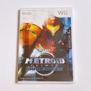 任天堂 - Wiiであそぶ メトロイドプライム2 ダークエコーズ 美品! ゲーム Wii U