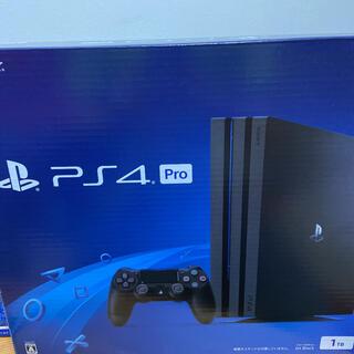 PlayStation4 - PS4 Pro 1TB jet Black