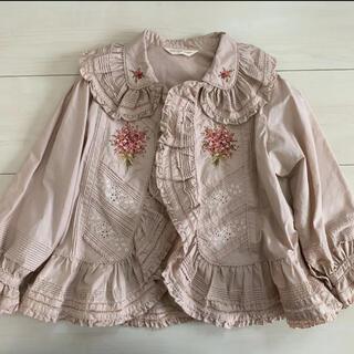 ピンクハウス 刺繍 羽織り ブラウス S
