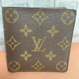 LOUIS VUITTON - LOUIS VUITTON ルイヴィトン ポルトフォイユ マルコ 二つ折り財布