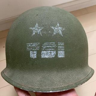 アメリカ軍 M-1ヘルメット WW2 実物(その他)