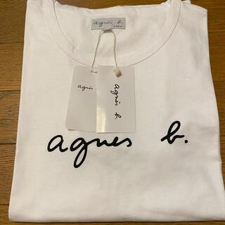 agnes b. - アニエスベー Tシャツ Lサイズ クルーネック 白 タグ付き