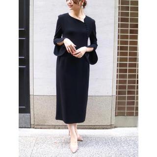 mame - 美品 ♡ mame マメ ブラック ドレス size2